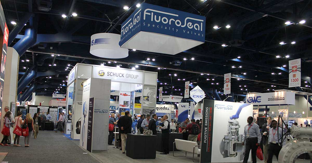 Valve World Americas Expo 2017 Houston FluoroSeal