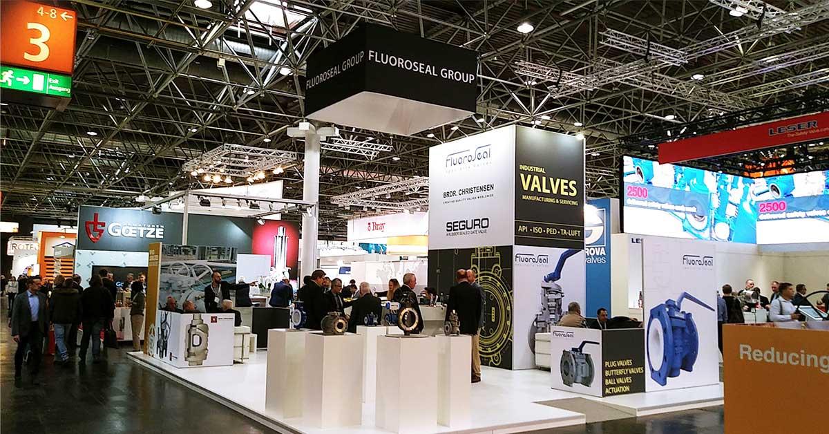 Valve World Expo 2018 Germany Dusseldorf FluoroSeal Group