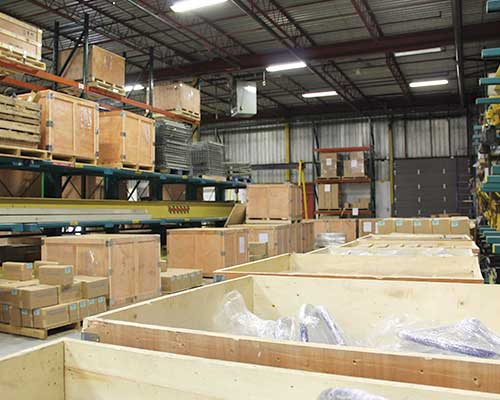 Distribution centre FluoroSeal