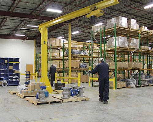 distribution centre packaging FluoroSeal