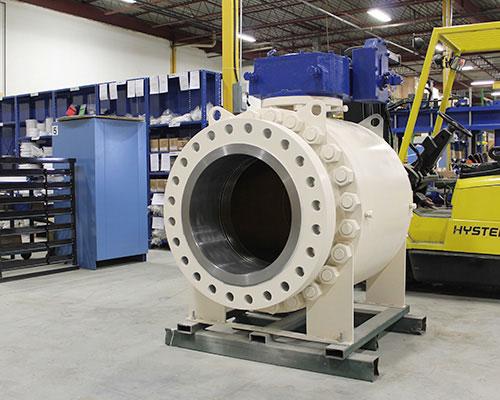 metal seated valve FluoroSeal warehouse