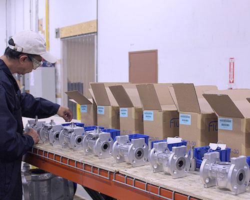 warehouse packaging FluoroSeal