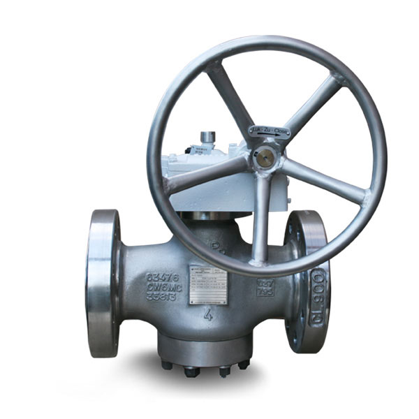Pressure balanced plug valve Brdr Christensen