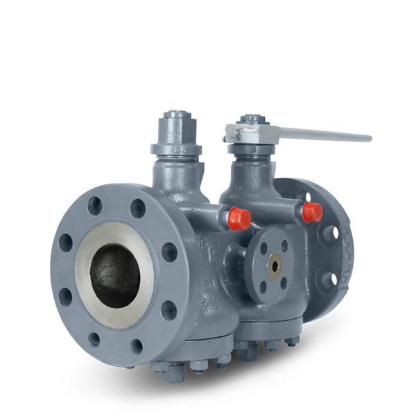 double block & bleed twin pressure balanced plug valve Brdr Christensen type 55