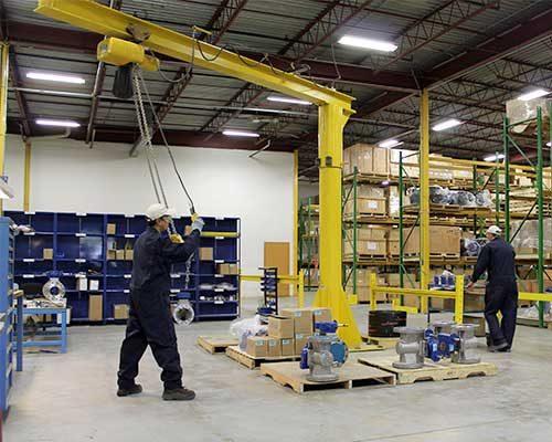 Distribution centre valve manufacturing FluoroSeal