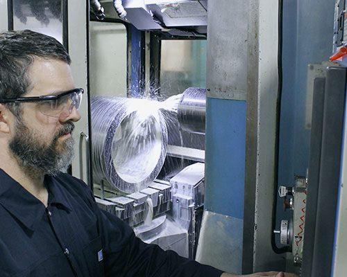 Valve body machining FluoroSeal