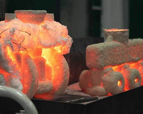 investment casting molds FluoroSeal foundry